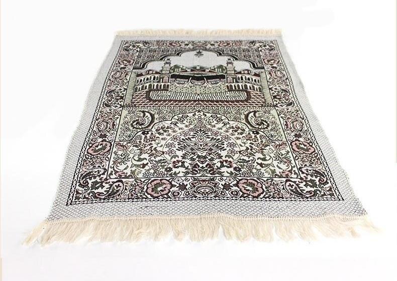 New 70*110cm Thin Islamic Muslim Prayer Mat Salat Musallah Prayer Rug Tapis Carpet Tapete Banheiro Islamic Praying Mat