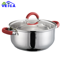2016 Fda Stainless Steel Cookware Cooking Pot Cookware Stainless Steel Hot Sale Kitchen Tool