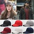 Bboy hip hop das mulheres dos homens da moda coreano cor sólida ajustável baseball snapback hat unisex cap peak casquette gorras