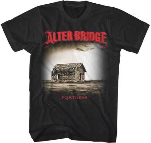 ALTERBRIDGE - Fortress - T Shirt Brand New - Official Merchandise Black Cotton T-Shirt top tee
