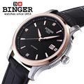 Швейцарские часы Бингер  мужские роскошные брендовые механические наручные часы  полностью BG-0405-5 из нержавеющей стали