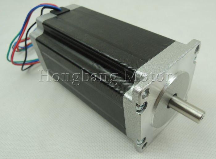 Nema23 stepper motor / 112mm 3A 425oz/in  2 phase 4-wire hybrid(Shaft Diameter 8mm)Nema23 stepper motor / 112mm 3A 425oz/in  2 phase 4-wire hybrid(Shaft Diameter 8mm)
