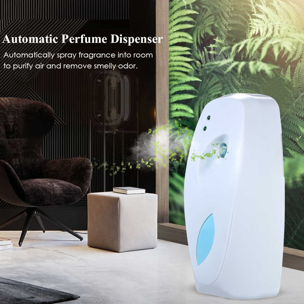 300 ML regulowany automatyczny odświeżacz powietrza w pomieszczeniach do montażu na ścianie perfum aerozolu dozownik sprayu dla hotelu domu toaleta biuro
