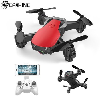 Eachine E61 E61hw Mini Drone With/Without HD Camera High Hold Mode RC Quadcopter RTF WiFi FPV Foldable RC Drone
