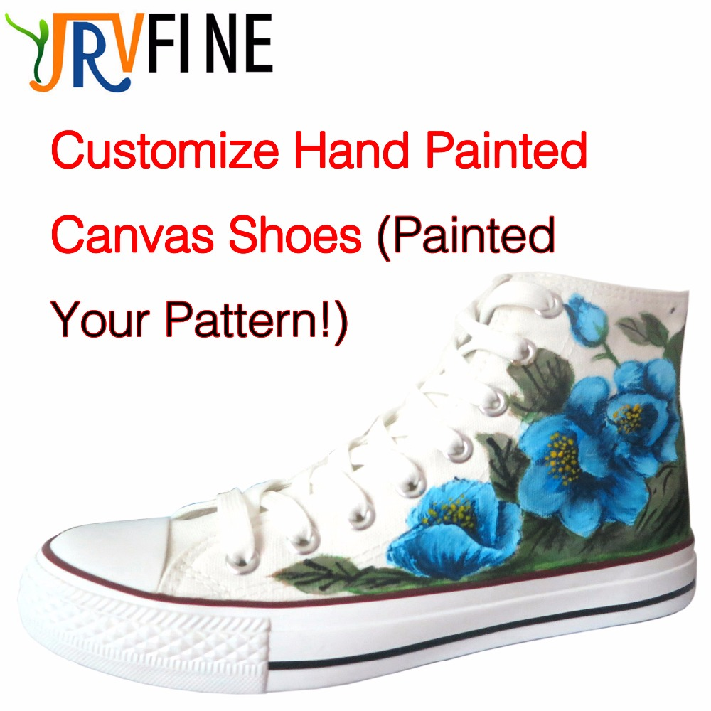 YJRVFINE Customize Hand Painted Canvas Shoes Women Girls High Top Unisex Shoes Flat Casual Adult Customize Graffiti Lovers Shoe e lov hand painted graffiti horoscope canvas shoes custom luminous graffiti gemini casual flat shoes women zapatillas mujer