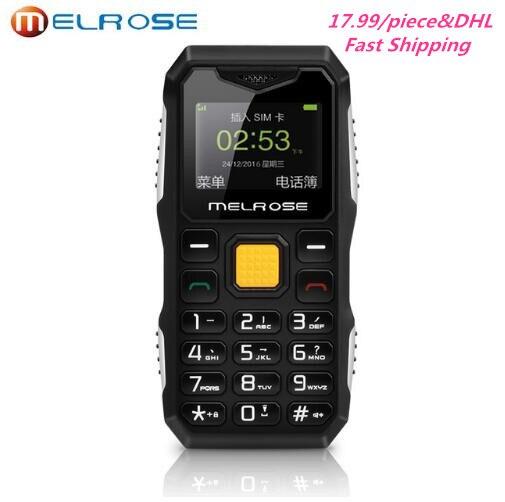 10pcs lot Melrose S10 Russian Keyboard Big Voice Mini Phone LED Flashlight FM MP3 Bluetooth Dialer