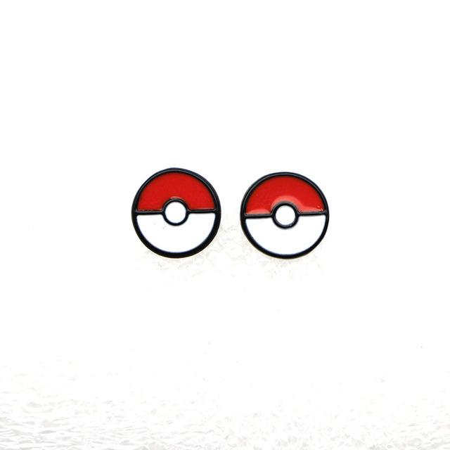 Pokemon Enamel Stud Earrings