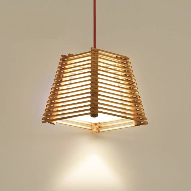 Chinese art solid wood bamboo chandelier southeast logs staircases chinese art solid wood bamboo chandelier southeast logs staircases corridors balconies restaurants bars personality lights aloadofball Image collections