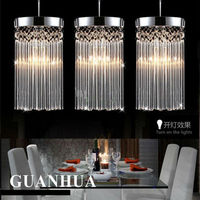 2015 New Design 3 Heads E14 Crystal Ceiling Lamp Circle Or Straight Base 2 Kinds Glass