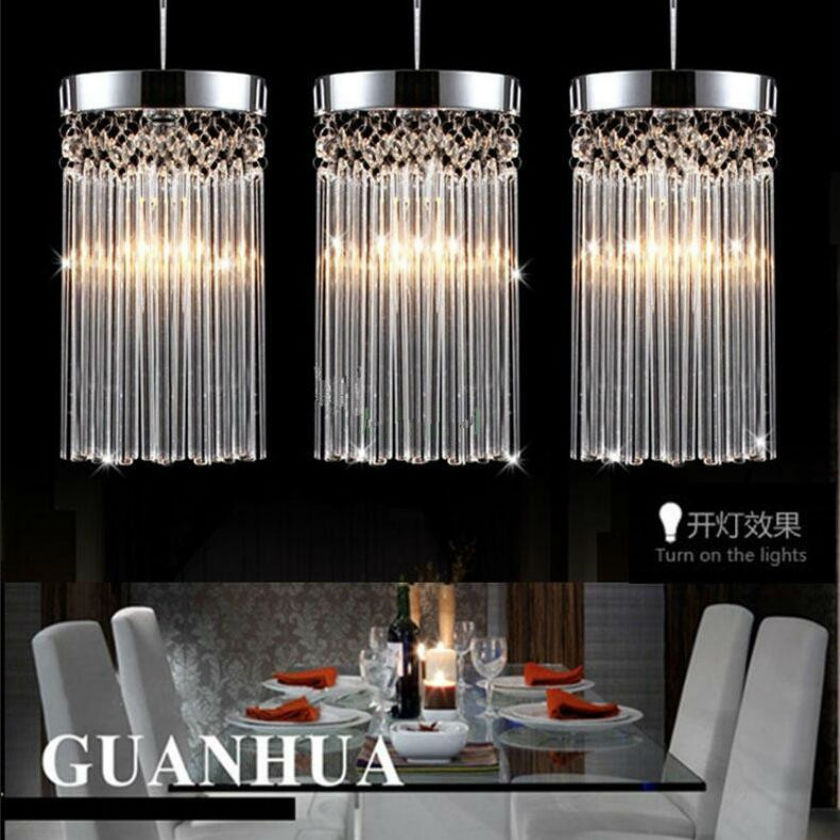 Modern fashion simple luster chandelier LED k9 crystal pendant lamp Restaurant lights Balcony aisle lamp 110v-260v Voltage light z best price l80xw80xh100cm modern k9 square crystal chandelier restaurant lamp hanging wire pyramid crystal lamp project lights