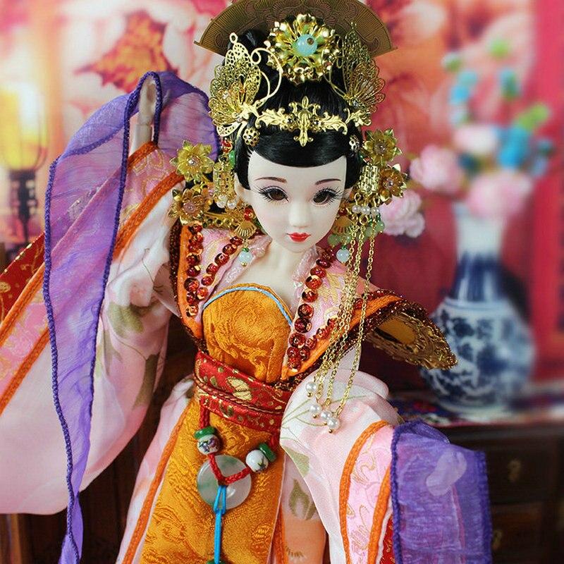 35 CM Bjd Doll Empress Zhangsun Dinastía Tang China Muñeca de - Muñecas y peluches - foto 4