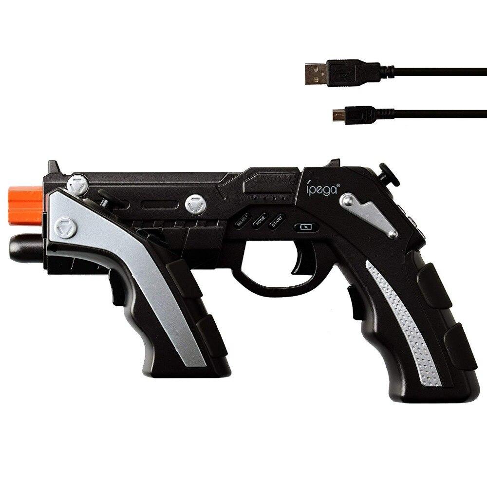 IPega PG-9057 PG 9057 contrôleur de jeu sans fil Bluetooth pistolet conception Style Joysticker jeu Pad combiné pour iOS Xiaomi Smartphone