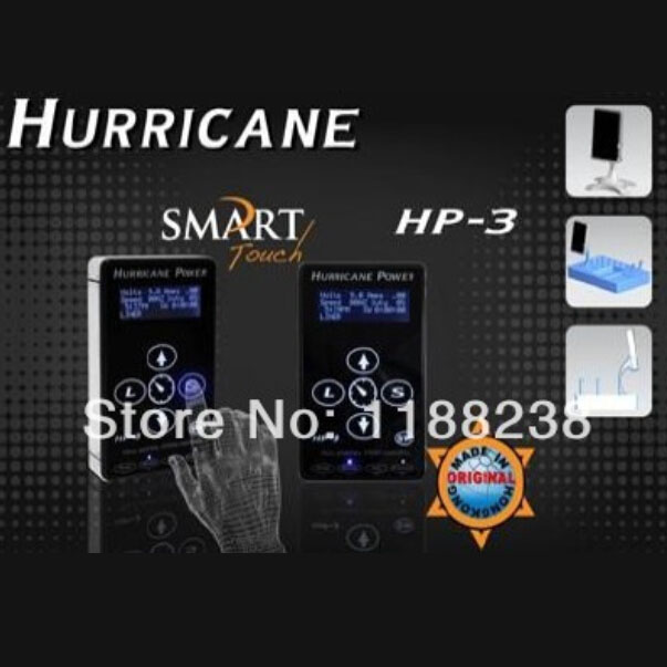 Hp-3 Smart Control Hurricane Tattoo Power Supply Digital Dual LCD Touchscreen Power Supply For Tattoo Machine Gun Free Shipping цена