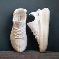 Summer mesh casual shoes, breathable couple running shoes, wild white shoes women shoes sneakers women womens sneakers