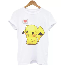 Hot Sale Funny Pikachu Short-Sleeved T-Shirt