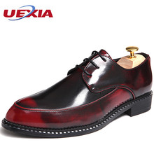 Mens Dress Shoes Rivets Wedding Oxford High Quality Male Brand 2017 New Formal Office Business Shoes Sapato Masculino Casamento