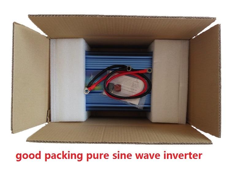 high quality,DC to AC 2000 watt inverter, peak power 4000w inverter pure sine wave 12v/24v to 110v/220V 50HZ
