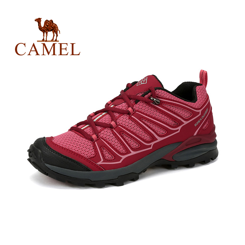 CAMEL Women Outdoor Climbing Sports Shoes Professional Anti Slip Breathable Outdoor Hiking Trekking Shoes