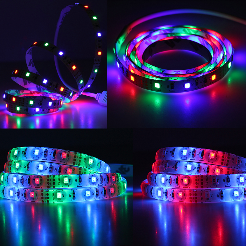 Frisch Aliexpress.com : Buy DC5V USB LED Strip 2835 with Battery Box Set  BS18