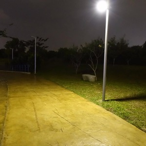 Image 5 - HEX 780X Warm White All in One Waterproof Day/Night Sensor 3 Power modes Solar Powered LED Street Light Solar Outdoor Light