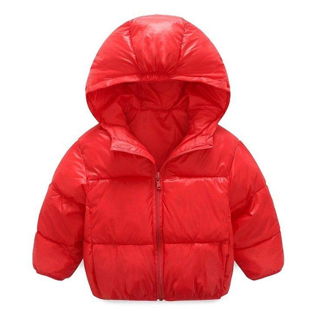 2017 Winter New Warm Boys Girls Thin Down Cotton Coat  Baby Kids Spring Autumn Down Jacket Children  Outwear Clothes купить автомобиль б у в донецке до 33000 грн