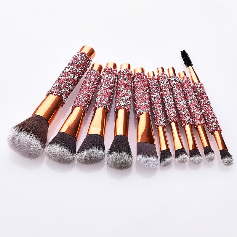 beleza cosmética com saco de cosméticos do plutônio
