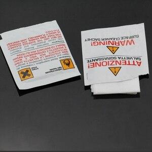 Image 3 - Livraison gratuite 40 pièces/boîte IPA FTTH Fiber alcool essuyer papier fibre connecteur papier de nettoyage pour connecteur de cavalier à fibre optique