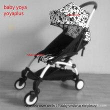 2018 جديد 30 نمط!! BABYYOYA 175 درجة غطاء للشمس ومجموعة وسادة مقعد Yoya يويو عربة طفل الملحقات الظل تسليط والوسادة