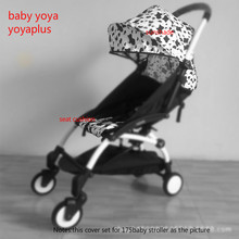 2018 New 30 Styles!! BABYYOYA 175 Degree Sun Cover and Seat Cushion Set Yoya yoyo Baby Stroller Accessories Shade Shed And Pad