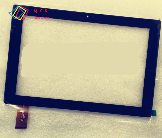 Black 10.1 Inch for KREZ TM1004B32 3G tablet pc capacitive touch screen glass digitizer panel Free shipping