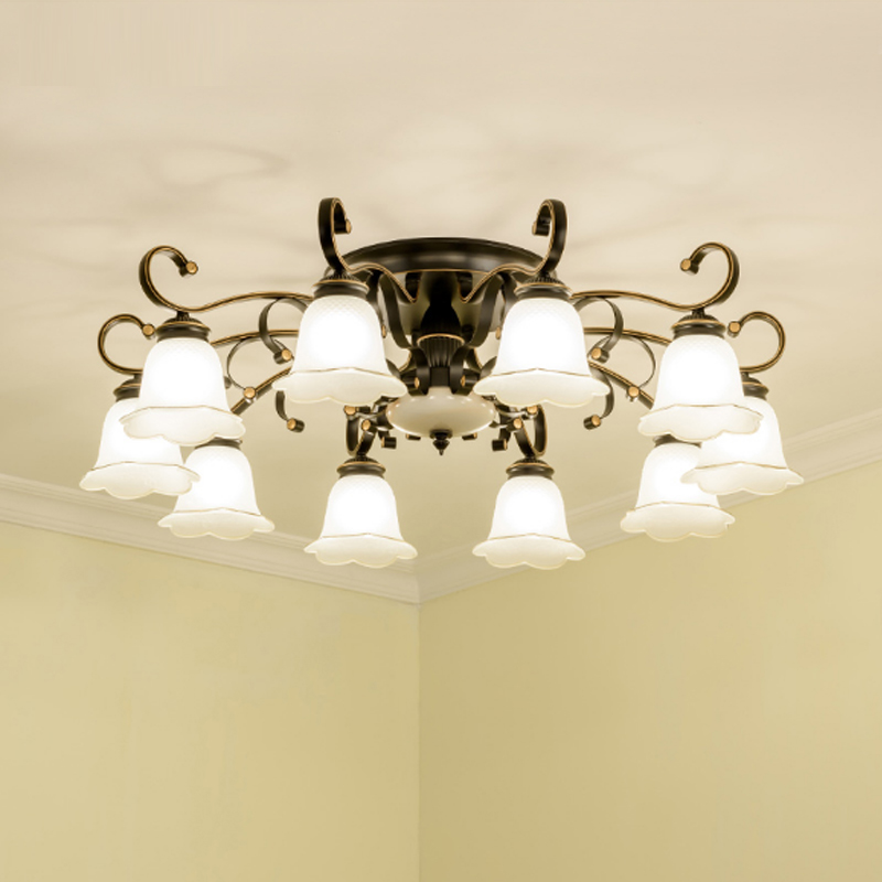 Dining Room Ceiling Lamps: European Style Ceiling Lamps Living Room Classic Ceiling