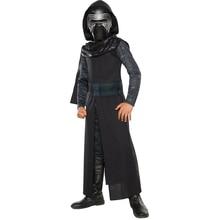 New Arrival Chłopcy Deluxe Star Wars Siły Awakens Kylo Ren Klasyczne Cosplay Odzież Dla Dzieci Halloween Movie Costume