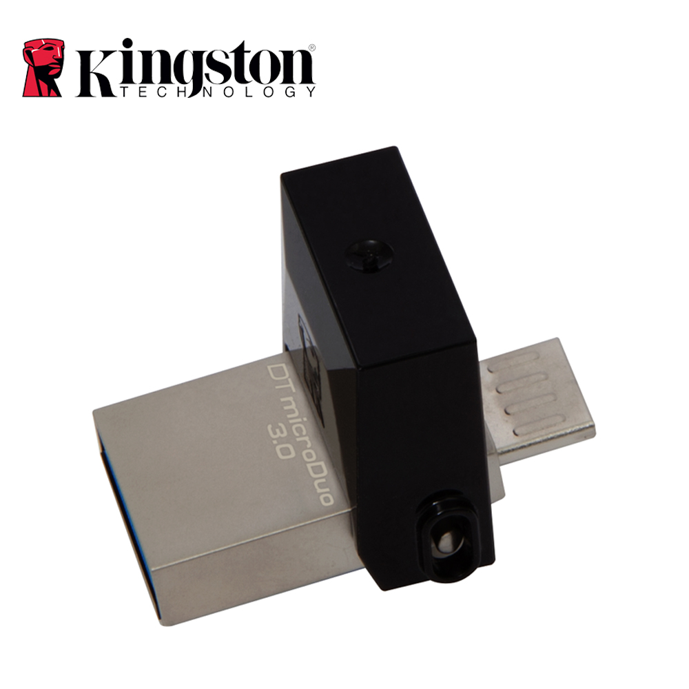 Kingston OTG Mini USB 3.0 USB Flash Drive 64GB 32GB 16GB 128GB Pen Drive Disk Smartphone