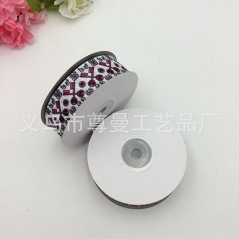 Single Side Printed Grosgrain Ribbons Easter Series DIY Digital Printing Thermal Transfer Sublimation Thread Belt Ribbon in Ribbons from Home Garden