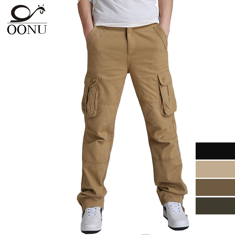 OONU 30 44 High Quality Men s Cargo joggers Pants Casual Military for Men Overalls tactical