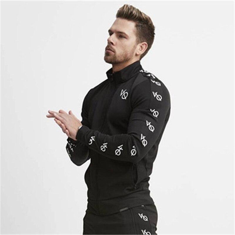 fashion men set fitness hoodies-1
