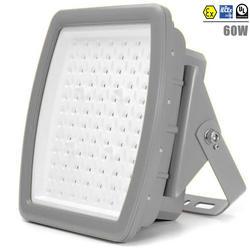 ATEX светодиодный свет 60 Вт взрывонепроницаемый ЖК освещение AC100V-277V UL DLC 60 Вт взрывозащищённый светильник