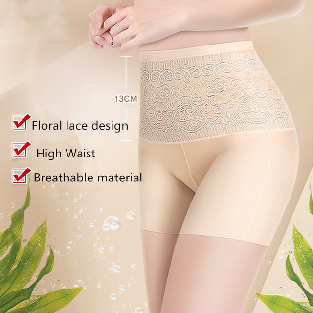 Thin Slimming High Waist pantie Butt Lifter Panties Seamless Breathable Lace Underwear body shaper shapewear Slimming Briefs