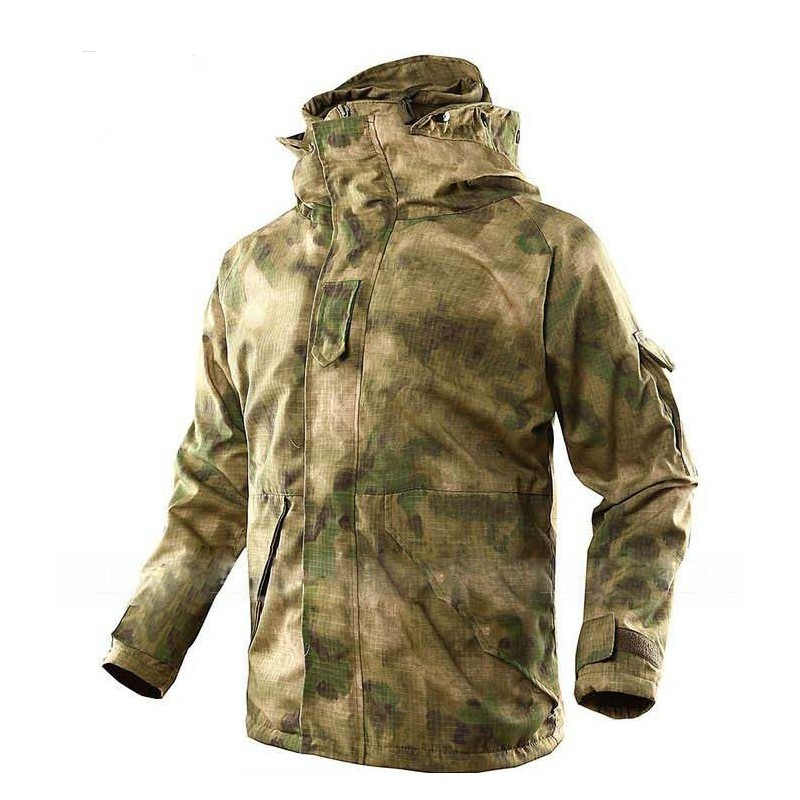 G8 ECWCS Windbreaker Hoody Softshell Outdoor Warm Hunting Jacket Mandrake Extended Cold Weather Outerwear Kypteck