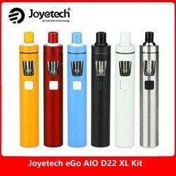 Original Joyetech eGo Vape Kit AIO D22 XL 2300 mah Bateria 4 ml Tanque All-in-one Vape caneta E cigarro Kit Vs Kit Ijust s/Minifit