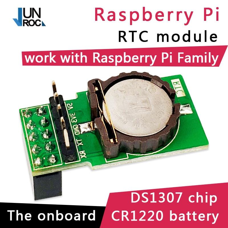 JunRoc Raspberry Pi RTC Module DS1307 IO Pin Connect Compatible With Raspberry Pi 3B Pi 3B+