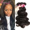 3PCS Lot Peruvian Virgin Hair Body Wave 7A Unprocessed Virgin Hair Weave, Peruvian Body Wave Human Hair Extension Longqi Hair