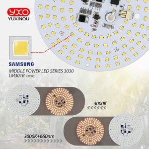 Image 5 - Fahrer 100W AC Led Wachsen Licht LED Lampe Volle Spektrum Samsung LM301B 3000K 660nm DIY LED Anlage Wachsen licht für Veg/Blüte