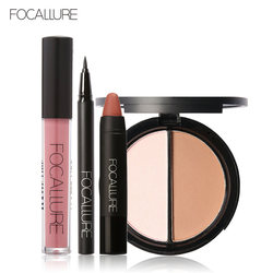 Focallure new 4pcs easy lip makeup black eyeliner pencil matte lip gloss sexy matte lip sticker.jpg 250x250
