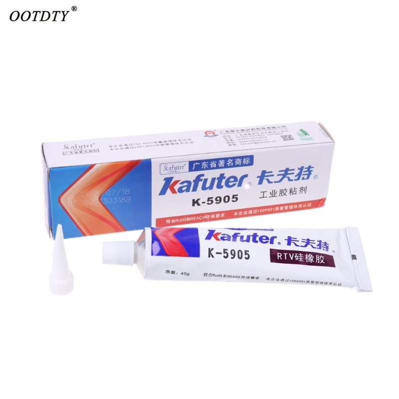 OOTDTY High Quality Kafuter K-5905 Industrial Adhesive Transparent Sealant Paste