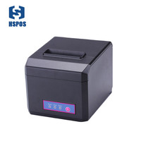 pos 80mm thermal receipt printer Support esc or pos commands usb and WIFI port multi language E81UW also support 58mm paper roll