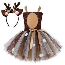 ילדות קטנות ערב חג המולד חג המולד להתלבש מסיבת שמלות סנטה איל תלבושות שנה החדשה טוטו רשת שמלות קרנבל תחפושת