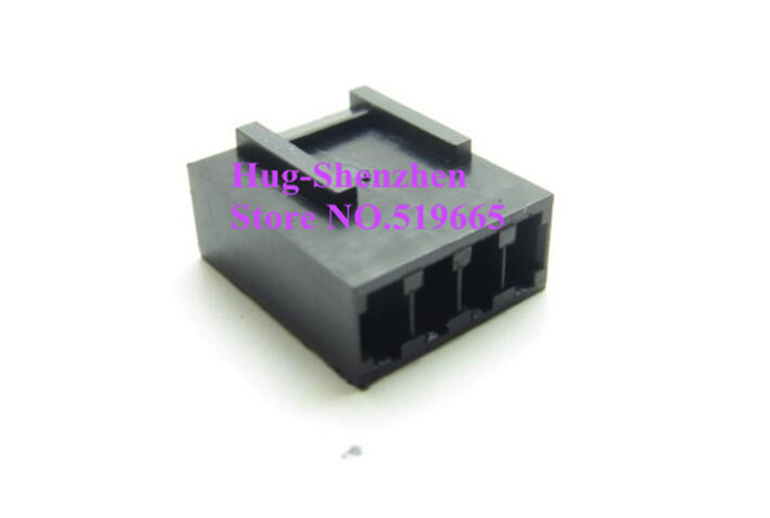 China Wholesale 4Pin 4 Pin PWM Fan Male Power Supply Connector plastic shell for Female terminals - Black electrical products shell plastic injection mold makers china