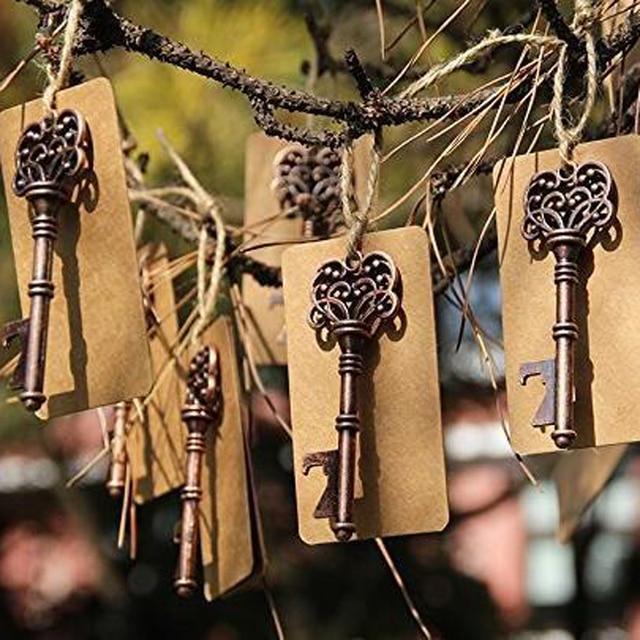 50 Pieceslot Classic Wedding Favors Party Gifts Antique Bronze
