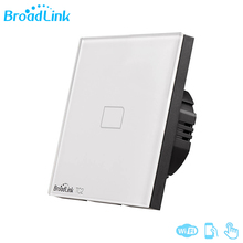 Original Broadlink TC2 1/2/3 Gang Wifi Light Switch AC170 250V Modern Design White Panel Via RM Pro Smart Control Wireless Touch